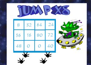 Multiplication Games 8 Times Table Eight Times Table